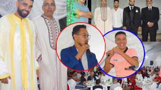 تهنئة بمناسبة زواج ابنة المختار بوقدور رئيس نادي بني شيكر الرياضي لكرة القدم