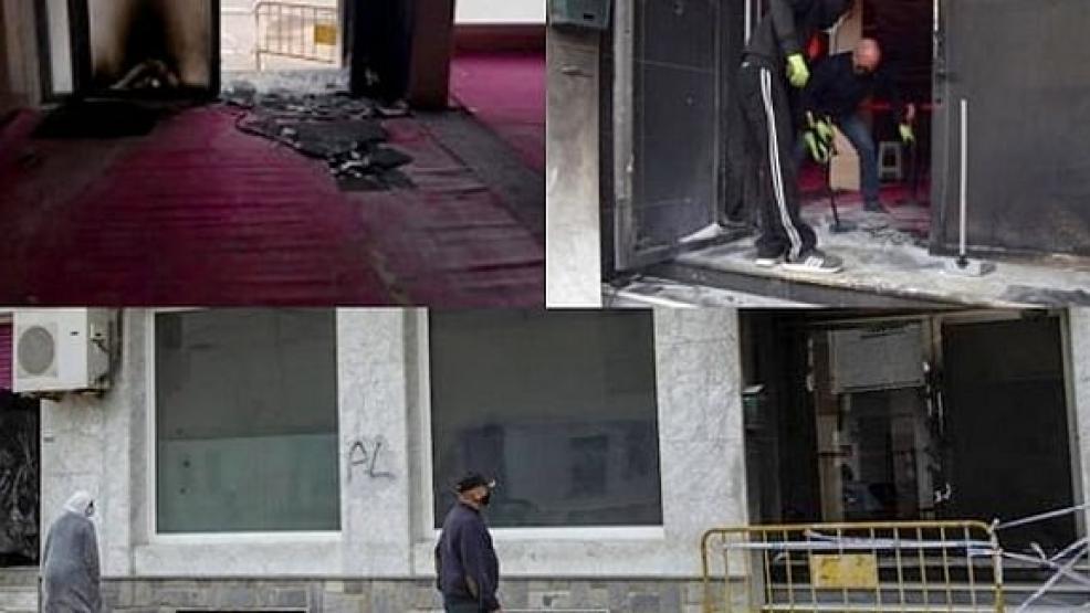 مجهولون يحرقون مسجداً يؤمه مغاربة في إسبانيا (صور)