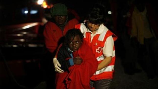 البحرية الاسبانية تعترض قارب للمهاجرين السريين انطلق من الحسيمة على متنه اطفال ونساء