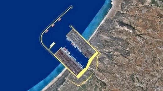 """""""ميناء غرب المتوسط"""" الضخم يرى النور قريبا بإعزانن بعد إتمام جميع الدراسات"""