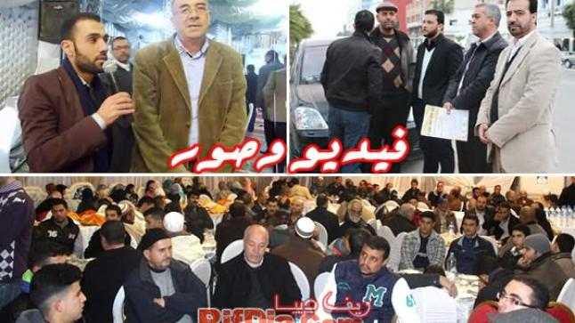الراحل عبد الله بها يدمع عيون الناظوريين في حفل تأبيني روحاني حافل