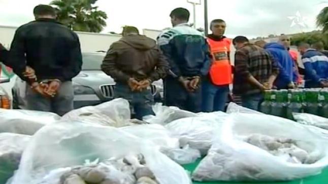 الناظور: تفكيك عصابة للاتجار الدولي في المخدرات والهجرة السرية