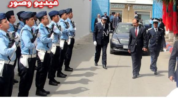 أمن االناظور يعيش لحظة تخليد ذكرى 58 لتأسيس الأمن الوطني
