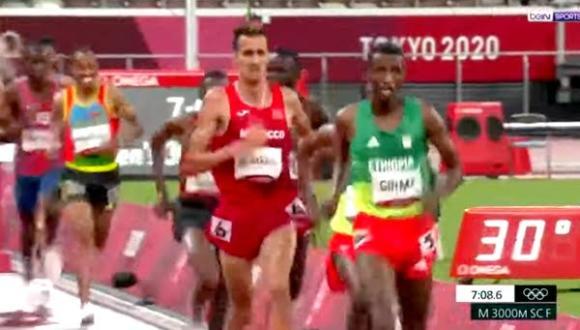 أولمبياد طوكيو: العداء المغربي سفيان البقالي يحرز الميدالية الذهبية لسباق 3000م موانع (صور)