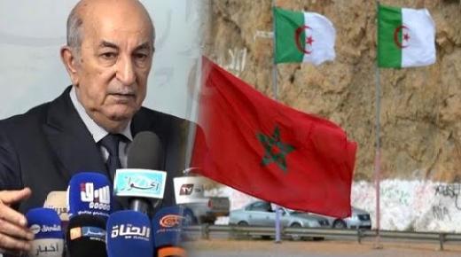 تبون يهدد المغرب