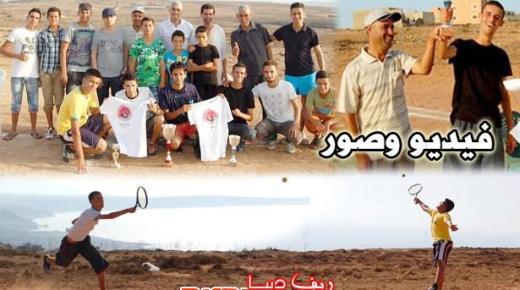 عبد الإله السوسي بطل الدورة الثانية لبطولة بني شيكر المفتوحة للتنس