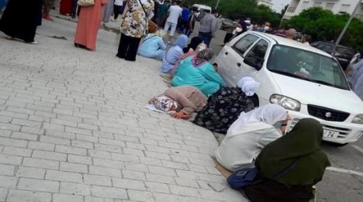 ماذا يحدث في طنجة.. طوابير تنتظر منذ الفجر من أجل تحاليل كورونا (فيديو)
