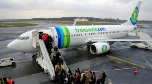"""""""ترانسافيا"""" تُعلن عن توسيع رحلاتها الجوية إلى مطاري الحسيمة والناظور"""