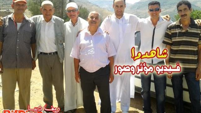 بني شيكر-جزائري من أصل مغربي يلتقي أخاه لأول مرةفي يوم العيد (مؤثر)