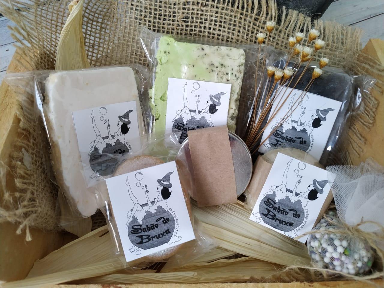 Foto  - Rifa de Halloween - Kit de produtos Sabão de Bruxa