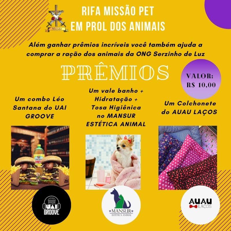 Foto  - Rifa Solidária Missão Pet