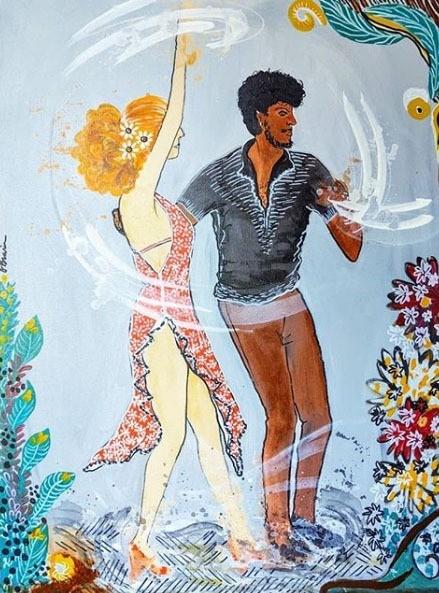 Foto  - Obra de arte - Dança de Salão - Salsa