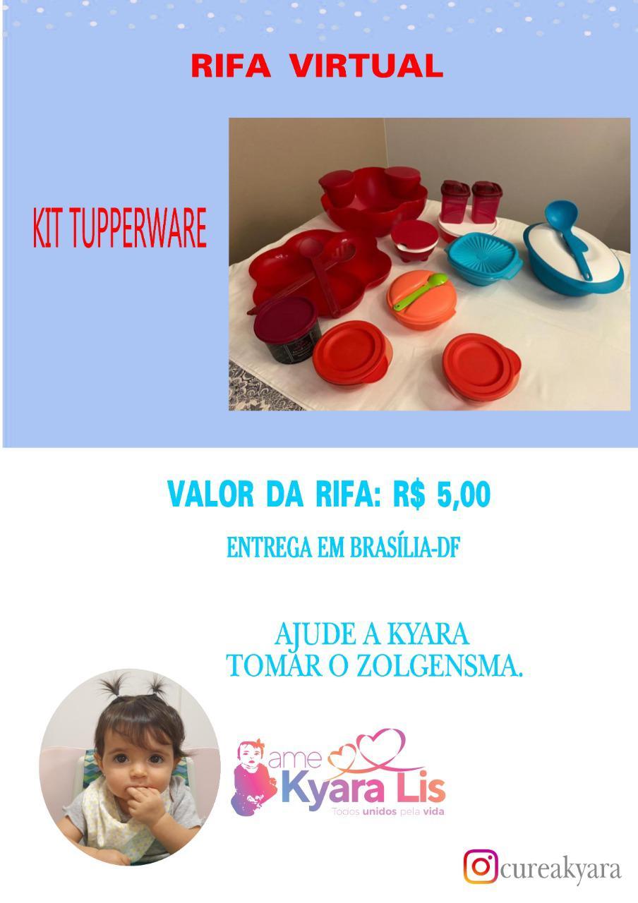 Foto  - [FINALIZADA] @cureakyara - kit tupperware (Brasília/DF)