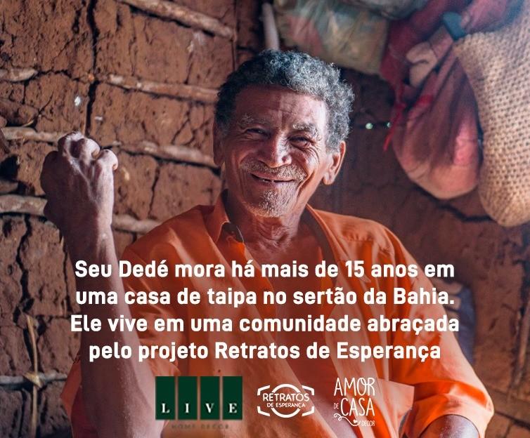 Foto  - Rifa para ajudar construir casa do Seu Dedé   Loja Live Home