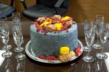 Crawfish cake - Riff Ridgel Annual Crawfish cookoff