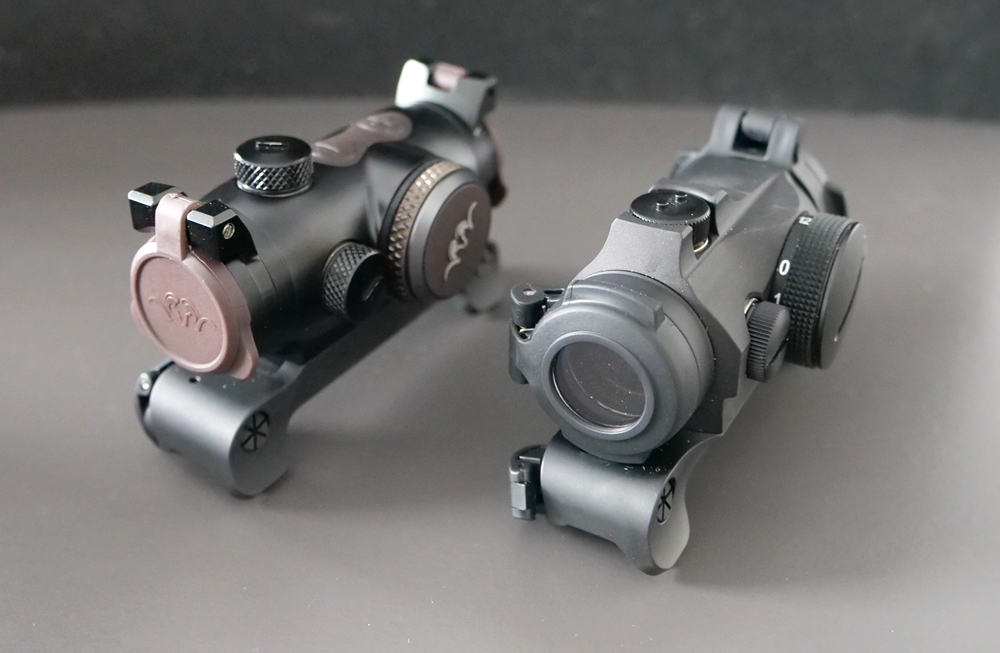 Aimpoint Micro H2 vs Blaser RD 17