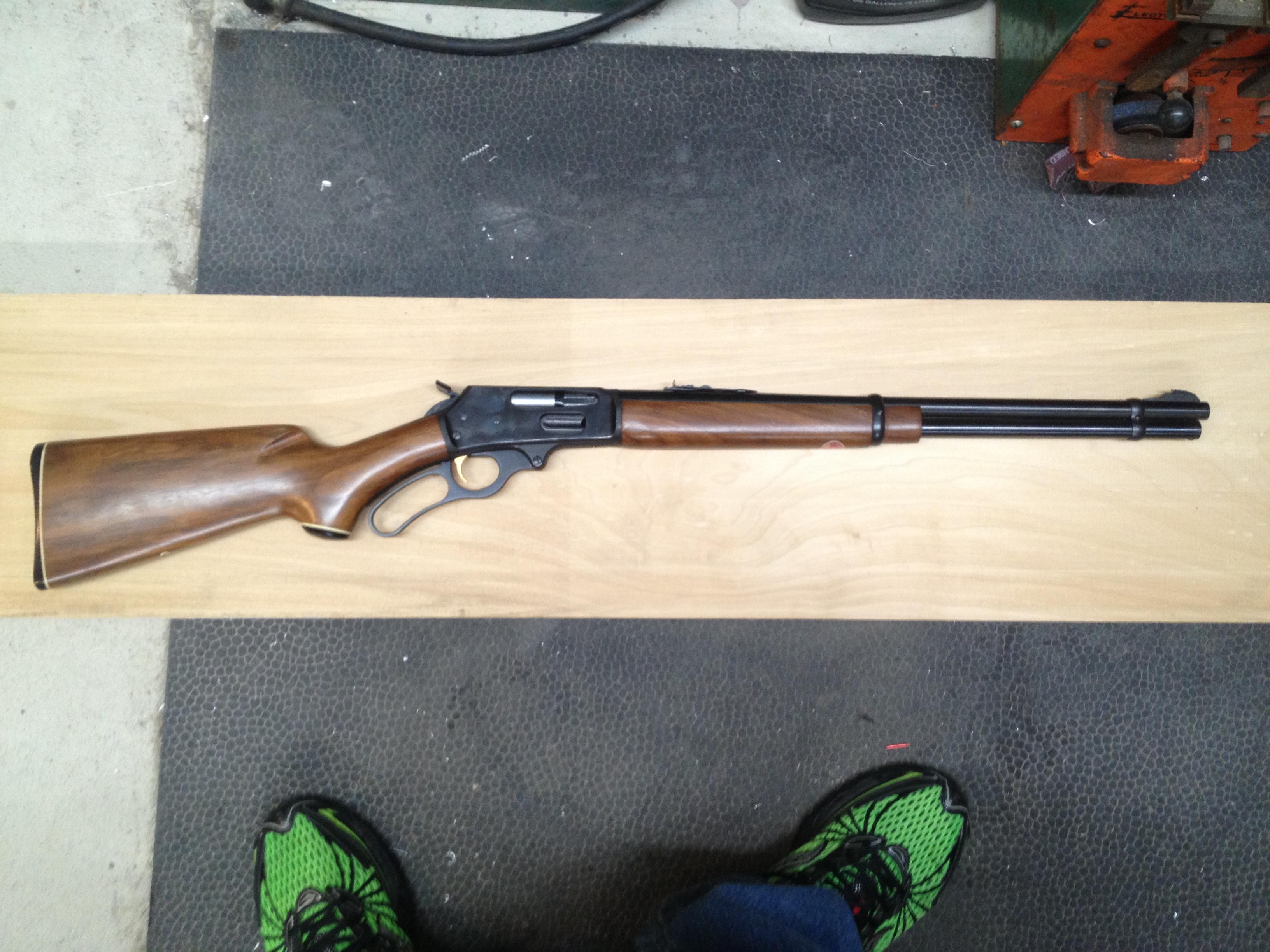Marlin 336 Straight Stock Conversion – rifleshooter com