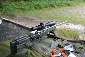 "The 28"" barrel is quite long, velocity of Federal 69 grain Gold Medal was 2920 fps and Asym 75 was 2887 fps."