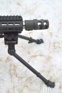 Right view of the Sierra 7 bipod.
