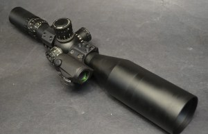 Aimpoint T1 mounted on ISMS