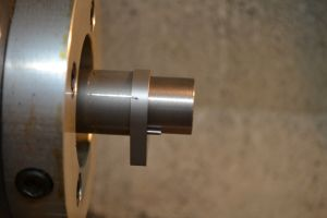 """The recoil lug has a larger inside diameter (1.080"""") than the required threads (1.062""""x18)."""