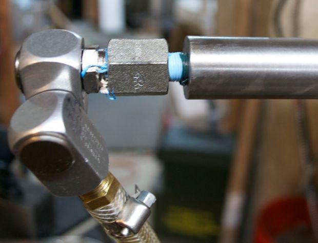 14b chamber flush union installed