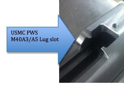 PWS M40A3 slot