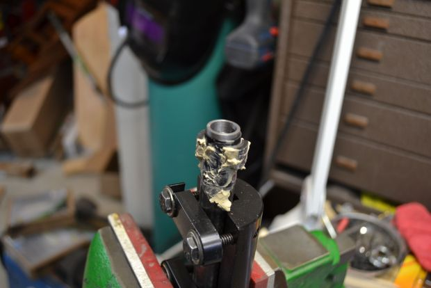 heat control paste on bolt