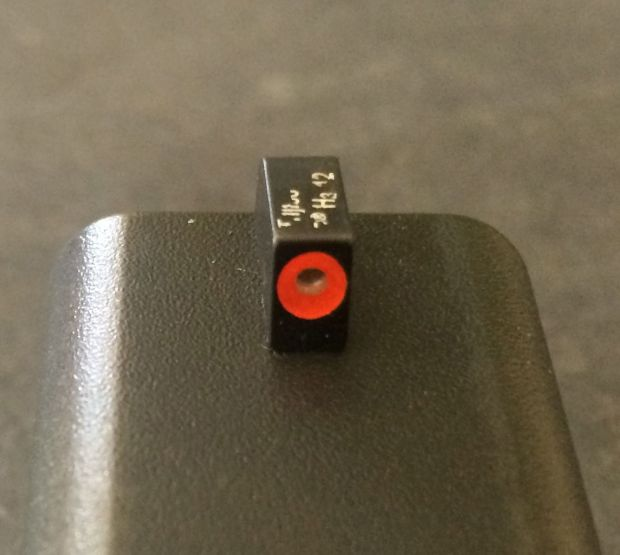 trijicon HD front sight