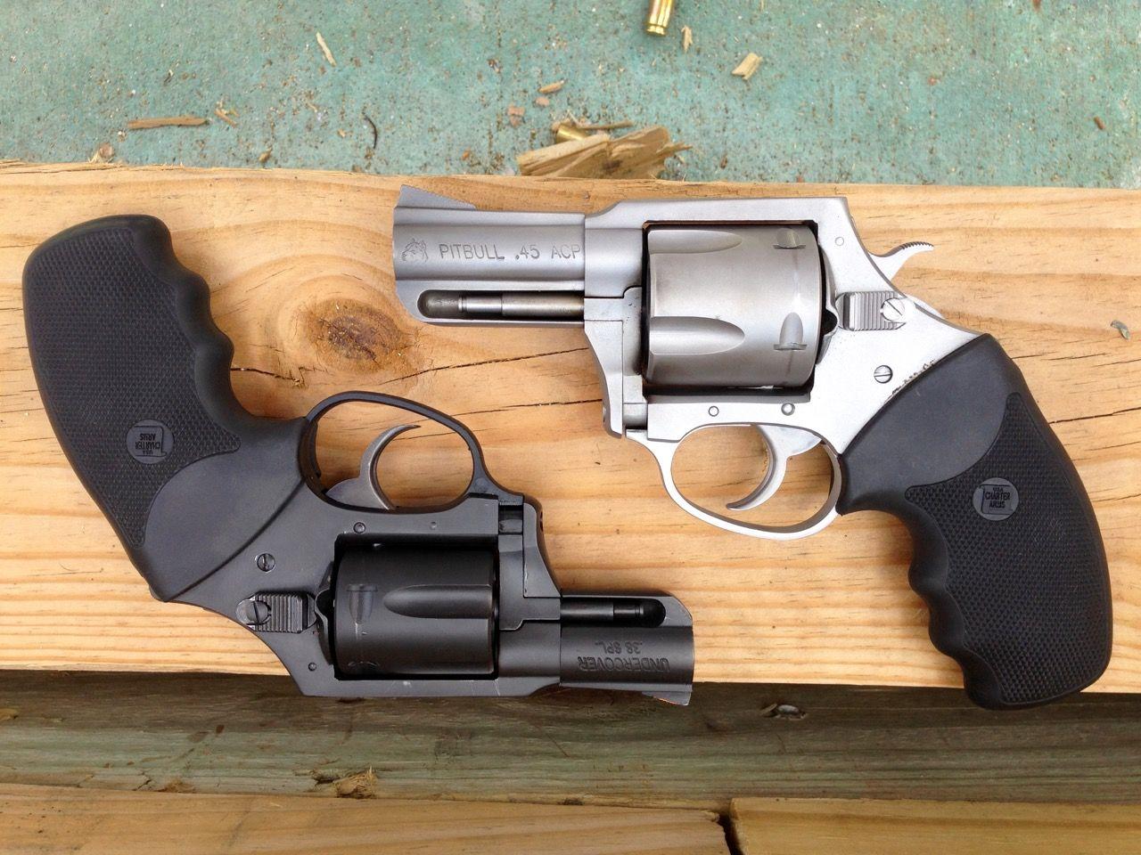Charter Arms Pitbull  45 ACP Review – rifleshooter com