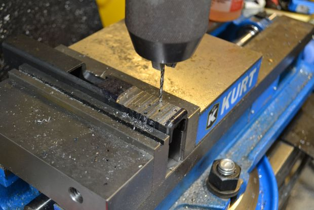 drilling tap holes