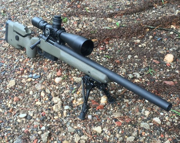 6.5 creedmoor rifle front