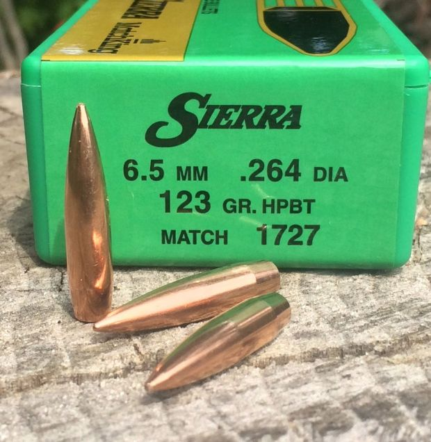 6.5mm 123 Sierra MatchKings SMK