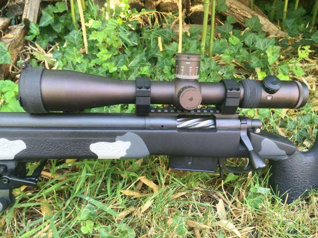 Custom rem 700 308 fluted bolt and handle