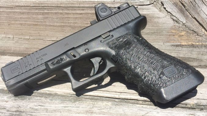Review: Shooting a Glock with Trijicon RMR red dot sight