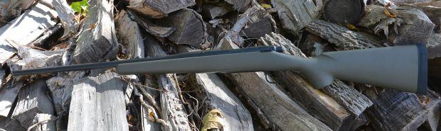 custom 700 hunting rifle left side
