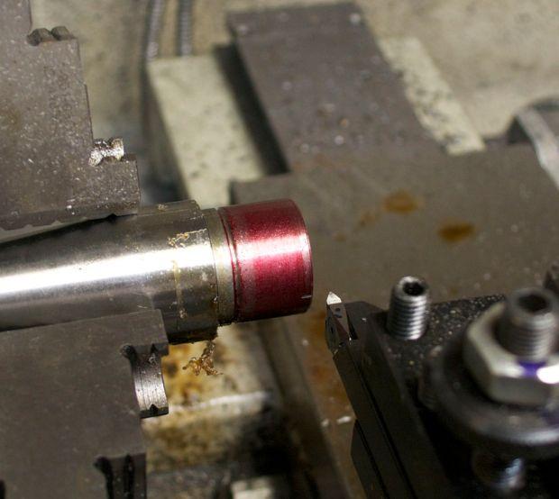 hreading a barrel for model seven 7