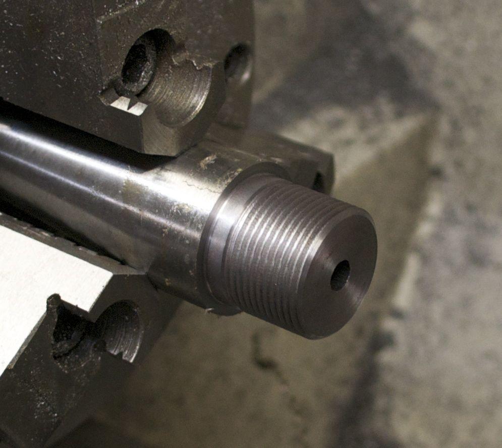 threads on barrel tenon for model seven 7