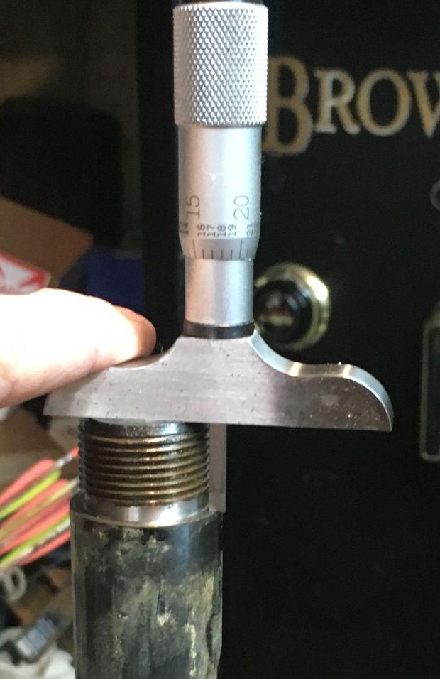 measuring factory tenon