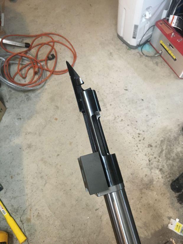 recoil lug alignmet fixture