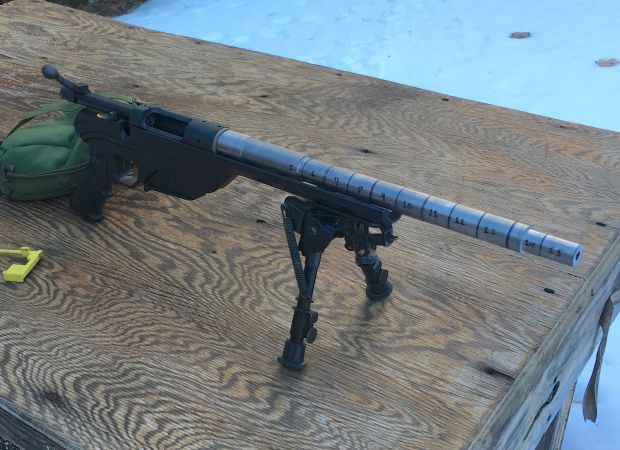 308 short barrel velocity test gun 2