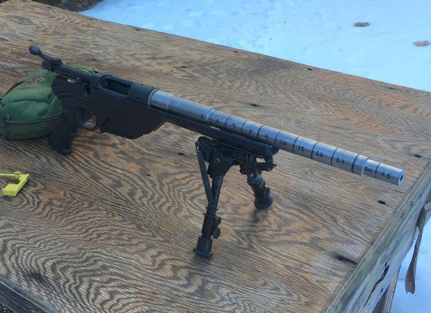 308 short barrel velocity test gun 2
