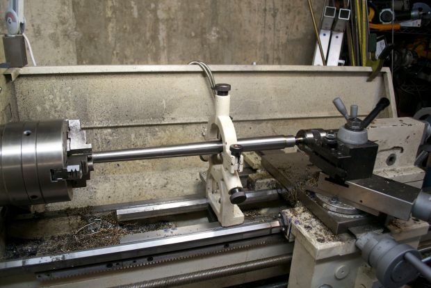 cutting barrel tenon Rem 7 300 BLK