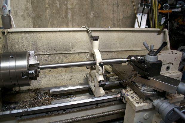cutting barrel tenon Rem 7 300 BLK