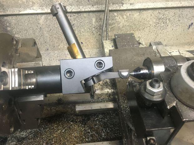 cutting off bolt knob M700 7.62x39mm