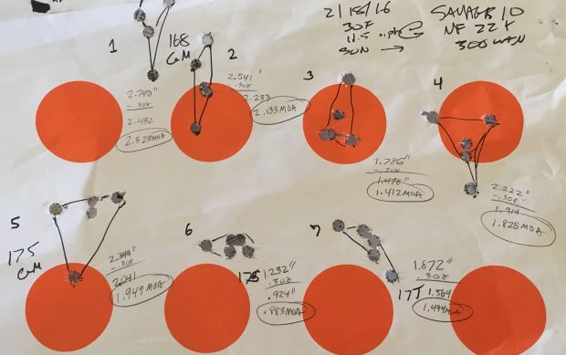 measured groups Savage 10 FCP-SR