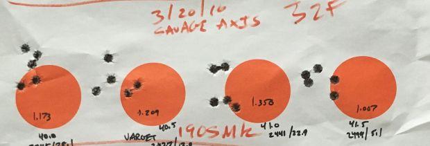190 SMK savage AXIS