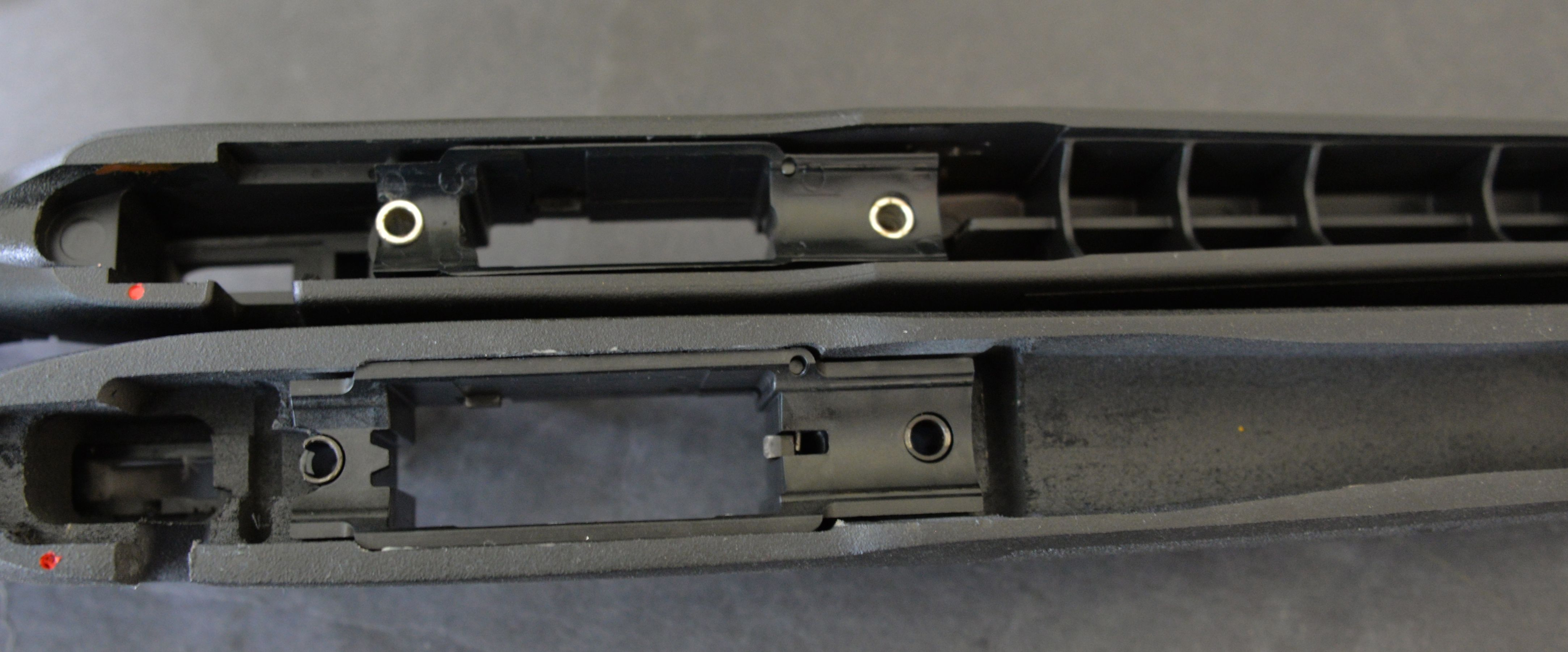 Mossberg 556 MVP stock top 762 bottom