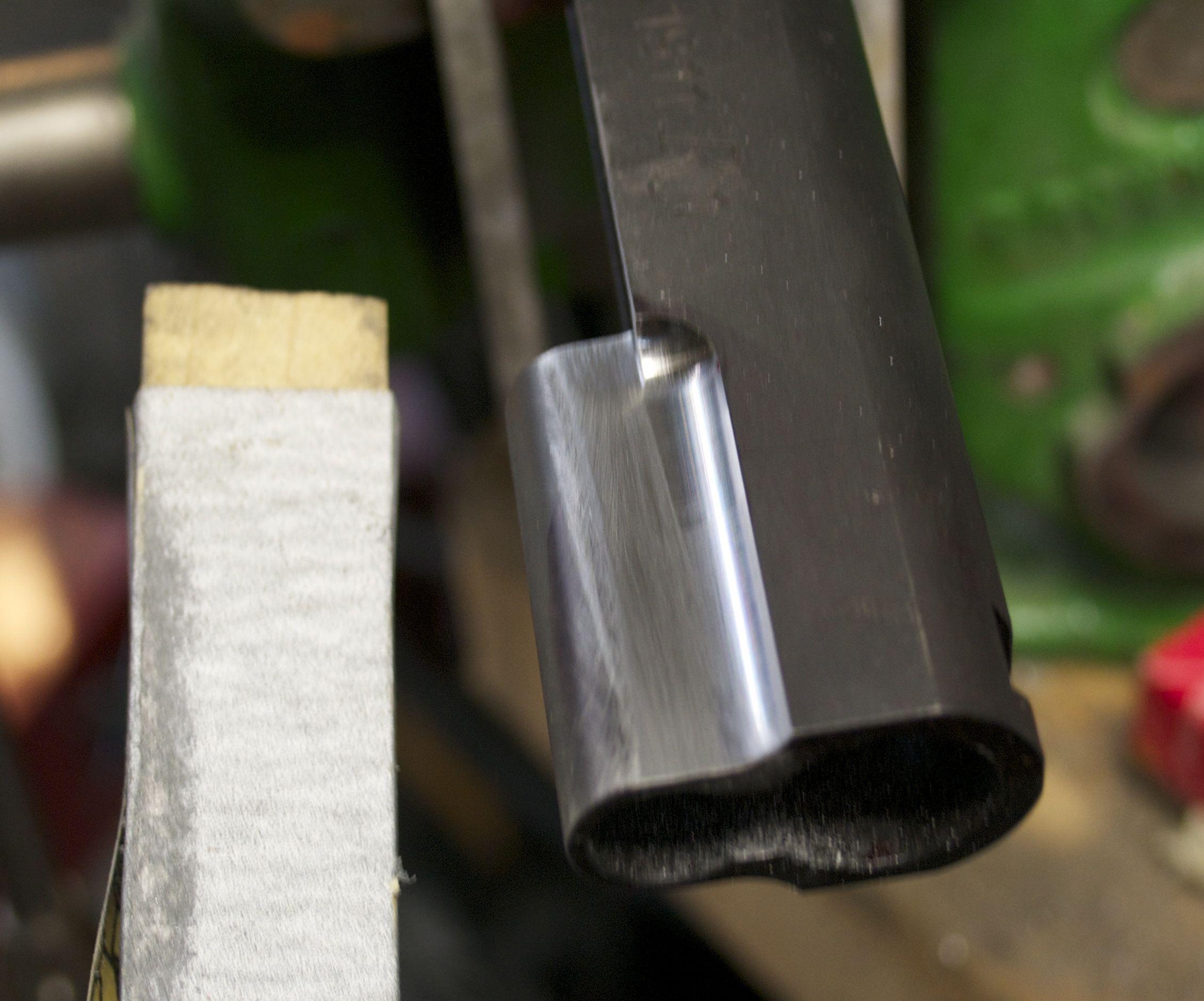 1911 ball cut slide right side polish
