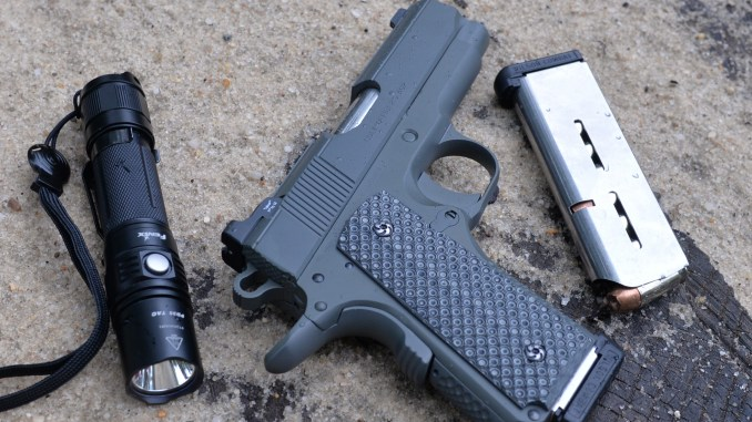 Customizing The 1911 Round Butt Officers Acp Conversion